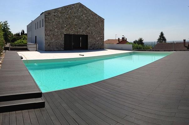 legno composito piscine
