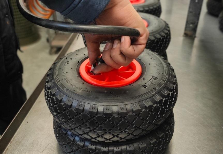 ruote carrelli industriali